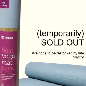 yoga mats sold out