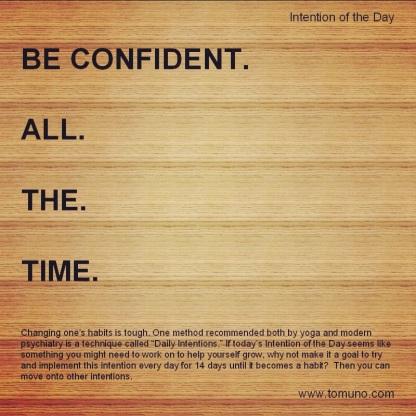 DI12_Be Confident