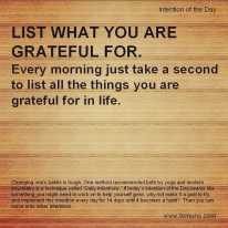 DI25_List Gratitudes