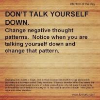 DI30_Don't Talk Yourself Down