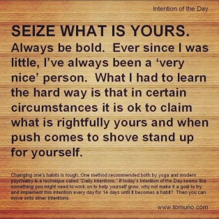 DI35_Seize What Is Yours