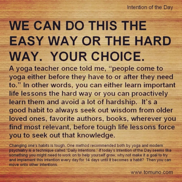 DI5_The Easy Way