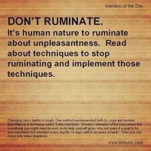 DI8_Don't Ruminate